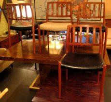 Set of 4 J.L. Moller Teak Chairs