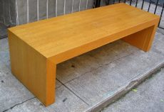 Oak Veneer Five Foot Bench