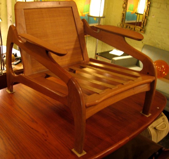 Plank-Arm Club Chair by Adrian Pearsall