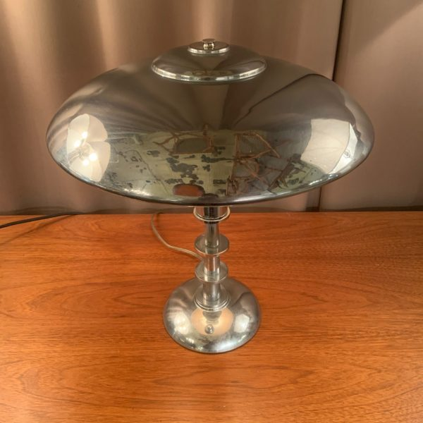 Machine Age Chrome Table Lamp
