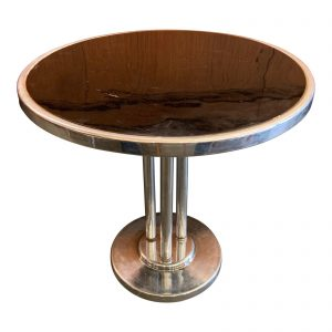 Machine Age Wolfgang Hoffman Chrome & Bakelite Cocktail / Coffee Table