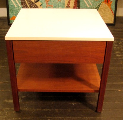 Florence Knoll Side Table with Drawer