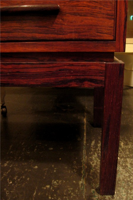 Four Drawer Brazilian Rosewood Low Chest