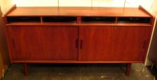 Compact Teak Credenza from Denmark