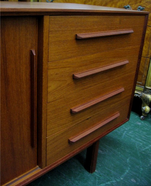 Five Foot Teak Credenza from Denmark