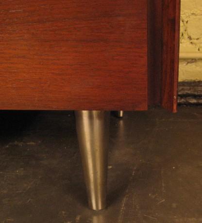 Five Drawer Tall Walnut Dresser