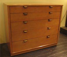 Edward Wormley Precedent Six Drawer Dresser for Drexel