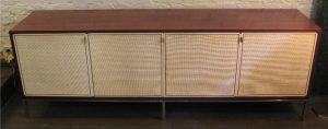 Exceptional Florence Knoll Rosewood Credenza