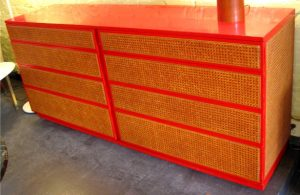 Caned Double Dresser by Directional