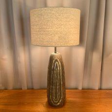 1950's Studio Pottery Ceramic Lamp