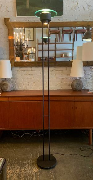 Memphis Style Torchiere Lamp from the 1980s