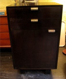George Nelson Two Drawer, One Door Cabinet