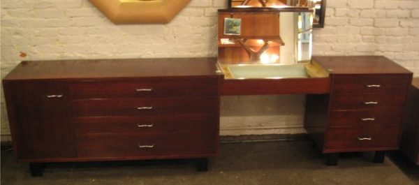George Nelson Dresser and Vanity Set by Herman Miller