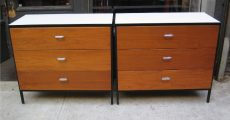 George Nelson Steel Frame Dressers