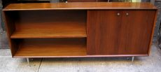 George Nelson Thin Edge Walnut Book Case