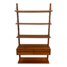 Poul Cadovius Teak Single Bay Royal Wall System