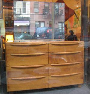 Heywood Wakefield Encore Double Dresser w/ Mirror
