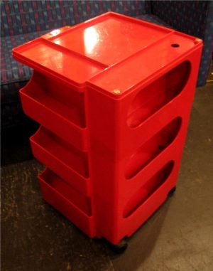 Joe Columbo Red Boby Cart