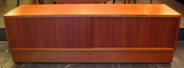 Low Teak Cabinet by HU Denmark