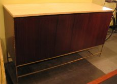 Paul McCobb Calvin Group Credenza with Travertine Top