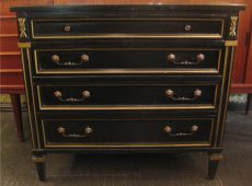Hollywood Regency Style Console Cabinet
