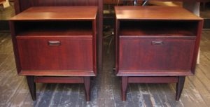 Pair of Teak Night Stands from Denmark