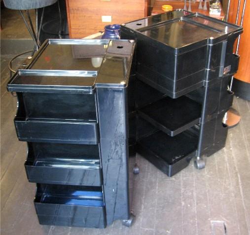 Joe Columbo Black Boby Cart