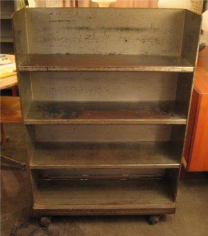 Heavy Duty Industrial Metal Rolling Shelf Unit