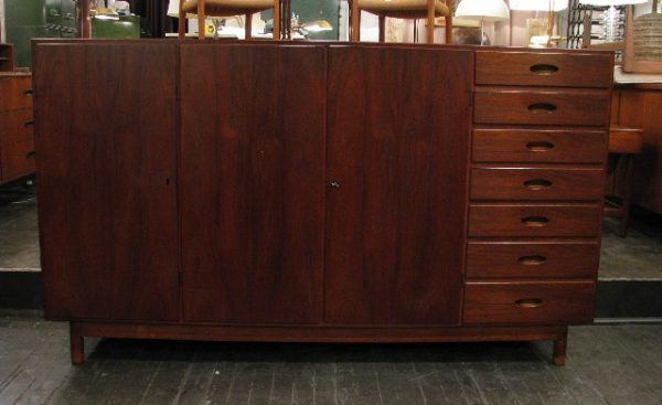 Long, Tall & Shallow Teak Credenza from Denmark