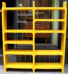 Kartell Modular Plastic Book Case by Olaf von Bohr