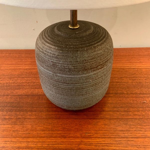 Small Ceramic Table Lamp by Nancy Wickham-Boyd