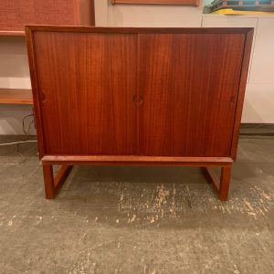 Freestanding Teak Cabinet by Poul Cadovious