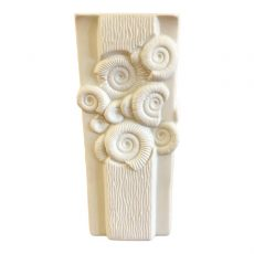 White Bisque Porcelain Vase by Kaiser W. Germany