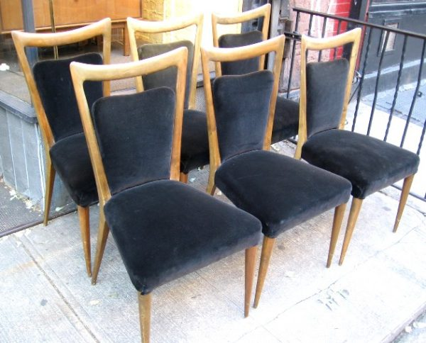 Melchiorre Bega Dining Chairs Set of 6