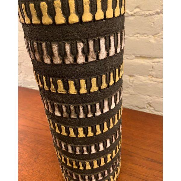 Tall Ceramic Lamp by Aldo Londi