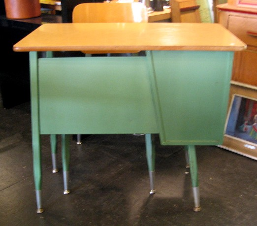1950s Classroom Desk and Chair