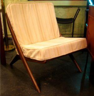 X Frame Club Chair by Dux