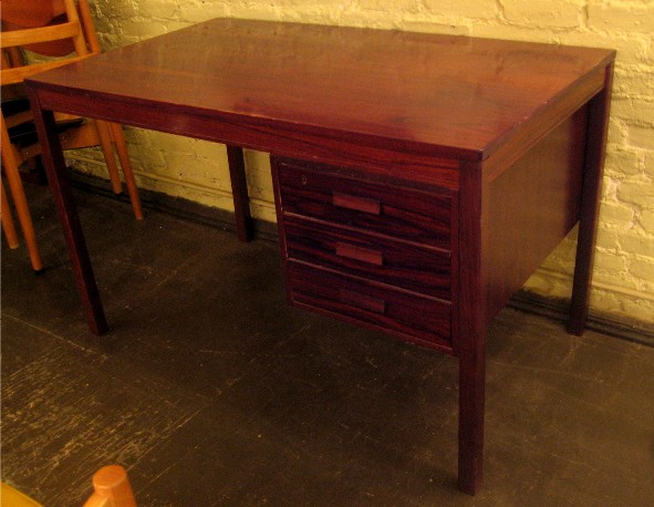 1970s Brazilian Rosewood Desk from Norway