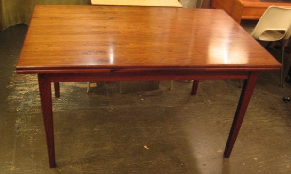 Brazilian Rosewood Extension Table from Denmark
