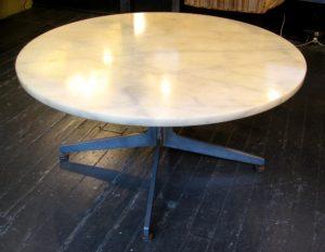 Aluminum Based Marble Coffee Table