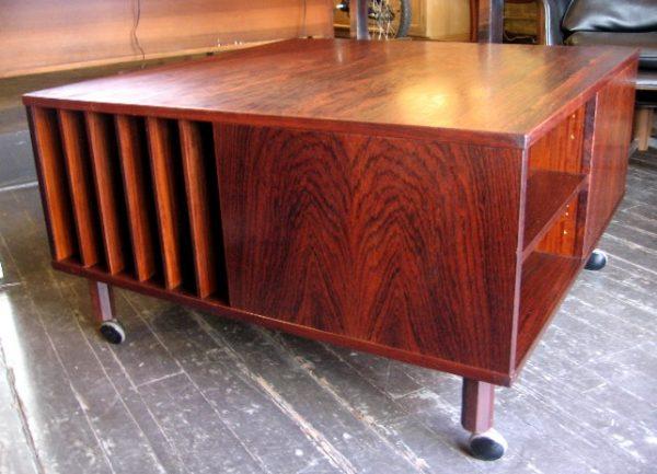 Peter Lovig Nielsen Cubus Teak Coffee Table, Dansk Designs