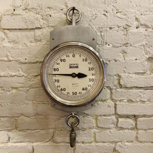 Massive Vintage Industrial Hanging Detecto Scale