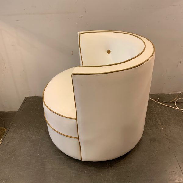 Cylindrical Swivel Chair From the 1960s