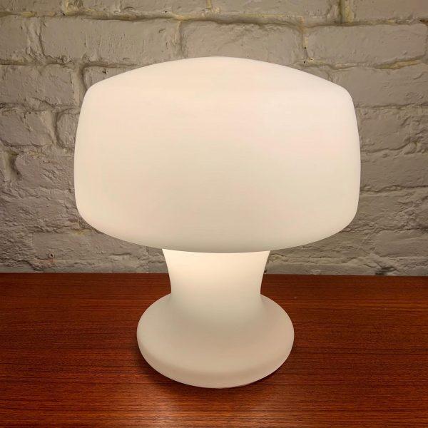Blown Glass Mushroom Lamp By Laurel Lamp
