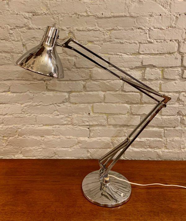 Luxo Chrome Table Top Task Lamp