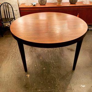 Edward Wormley Round Mahogany Dining Table for Dunbar