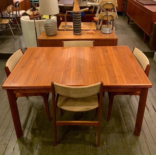 Set of Four Teak Dining Chairs by Johannes Andersen