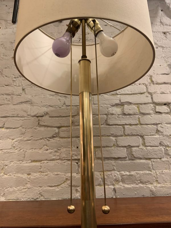 Brass Floor Lamp from the 1950s