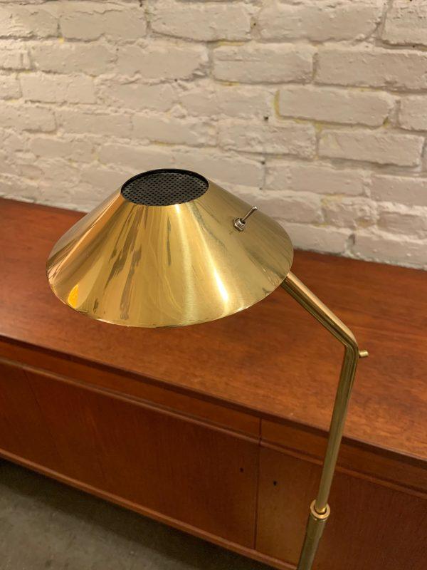 Koch and Lowy Telescoping Brass Floor Lamp