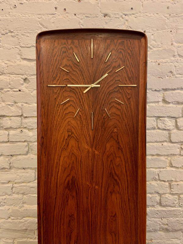 Arne Hovmand-Olsen Rosewood Room Clock & Bar Cabinet